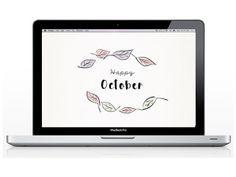 Desktop Dress-Up via oraneboucher.com; free desktop wallpaper; free tech design…