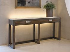 ORWELL Console table by Fratelli Longhi design Giuseppe Viganò