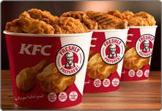 KFC started by Colonel sanders at his gas station is now the second largest fast food franchise in the world. Let's dig some interesting facts about KFC. Kfc Chicken Recipe, Fried Chicken Recipes, Grilled Chicken, Crispy Chicken, Chicken Seasoning, Kentucky Fried Chicken, Kfc Coupons, Pizza Coupons, Starbucks Recipes