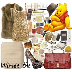 Who knew Winnie the Pooh could be translated into something so glam?