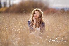 senior portraits in a field   portraits rogue valley senior photos in a field of grass fall portrait ...