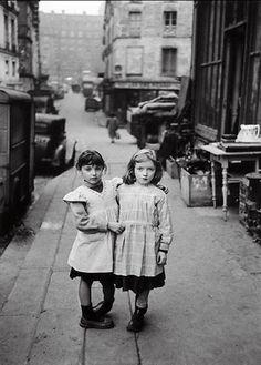 Édouard Boubat The Two Friends Paris, Maubert, 1952 [also] Thanks to kvetchlandia