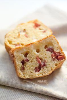 Pan brioche salato senza burro Un rustico meravigliosamente saporito e morbido!  La ricetta su http://noodloves.it/pan-brioche-salato-senza-burro/  #Brioche #Salato #Rustico #Cake #Salumi #Formaggi #Buonissimo #RicettaBase #PanBrioche #SenzaBurro #MenudiNatale