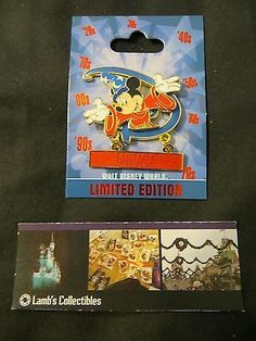 Generation D Sorcerer Mickey Disney Parks Authentic Collection LE 500 pin