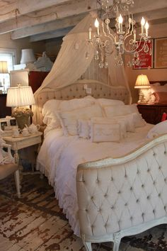 romantic bedroom I can't imagine a man would care for