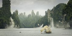 EARTH - matte painting on Behance