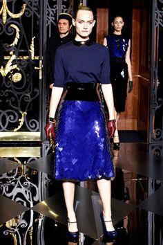 Runway. Louis Vuitton style