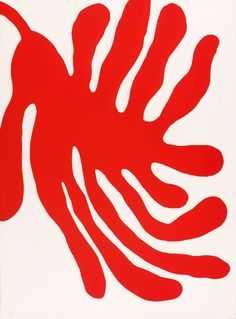 William Turnbull 'Leaves, Red', 1967 © William Turnbull. All Rights Reserved, DACS 2014