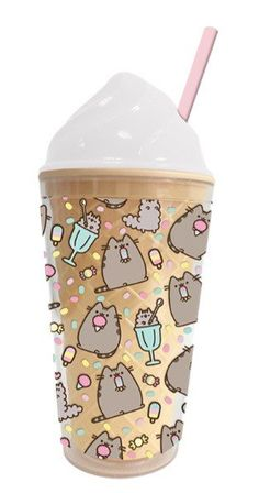 Absolutely cute pusheen coffee cup love this so adorable 🤩🤩! Pusheen Cat Plush, Pusheen Love, Pusheen Shop, Pusheen Stuff, Pusheen Birthday, Cat Merchandise, Disney Cups, Kawaii Room, Cute Cups