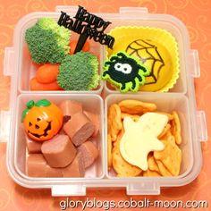 Cute Halloween Bento Lunch