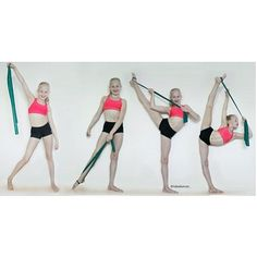 Theraband tilt tip  Featuring @idadancer_  Make sure you do both of your legs, don't be uneven xx