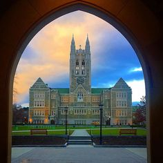From our friends at Boston College  @bostoncollege - Make it a December to remember|| Photo by @meaganroecker  #HelloDecember #BC360 #GassonGram #goviewyou