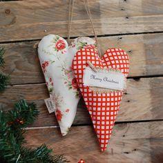 Zawieszki serca vintage w La maison cottage na DaWanda.com