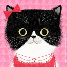 Happy, 8 x 8 Art Print by flora chang | HappyDoodleLand on Etsy