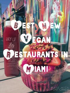 Ever wondered what the yummiest vegan restaurants are in Miami?