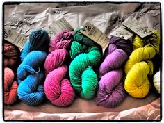 Abuelita Yarns found at #PecaditosDeEva a trending Spanish Blog. GREAT COLOR SELECTION. #LaMaisonBisoux