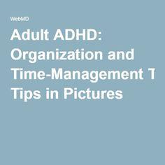 ways manage adult adhd