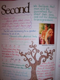 Jans Second Article of Faith page