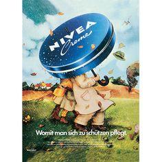 """1973: Eine groß angelegte Werbekampagne betont die """"Only Me""""-Qualität der NIVEA…"""
