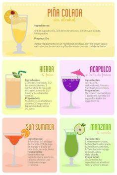 RECETA: Cocteles sin alcohol