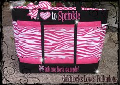 READY TO SHIP  Professional Size Bag   pink by goldilocks1999, $55.00