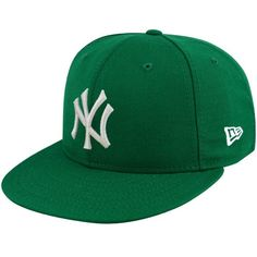 New Era New York Yankees Kelly Green League Basic Fitted Hat
