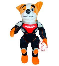 Custom corporate plush mascot space dog toy, handmade by Art-berloga Emotional Messages, Bunny And Bear, Handmade Toys, Dog Toys, Tigger, Disney Characters, Fictional Characters, Plush, Space