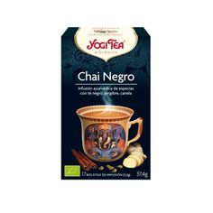 Yogi té Chai negro 17 filtros