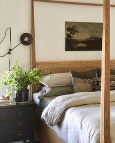 Cozy Bedroom, Master Bedroom, Bedroom Decor, Bedroom Ideas, Earthy Home, Amber Interiors, Guest Bedrooms, Creative Decor, Sweet Home