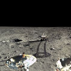 New pictures from V China's Chang'e 3 lunar lander and Yutu rover... Highest resolution images ever taken of the Lunar surface!