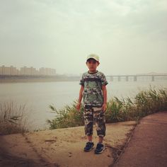 At Han river, Seoul