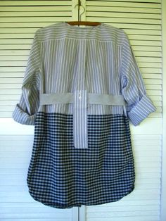 15% off Eco upcycled clothing Shirt Tattered by lillienoradrygoods