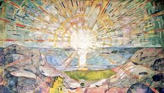 Sun 1916 Edvard Munch