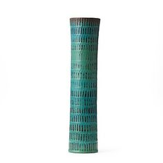 134. STIG LINDBERG, vas, Gustavsberg Studio 1963. Stig Lindberg, Ceramic Pottery, Flower Pots, Sweden, Vases, Lisa, Planters, Auction, Earth