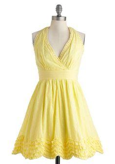 Meadow Buttercup Dress