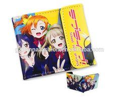 Anime Cosplay Dragon Ball Z God Super Saiyan Bifold Wallet Short Purse Billfold