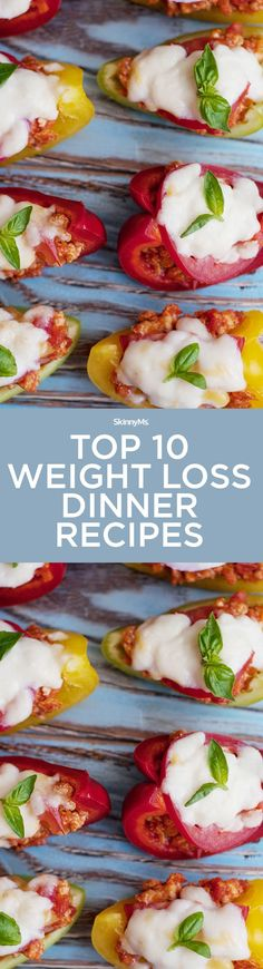 Kick your weight loss goals up a notch with these Top 10 Weight Loss Dinner Recipes! | dinner recipes | easy dinner recipes | healthy dinner recipes