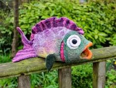 Tropical Fish - Tutorial Part1 , Gone Felting