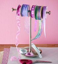 great idea for ribbon