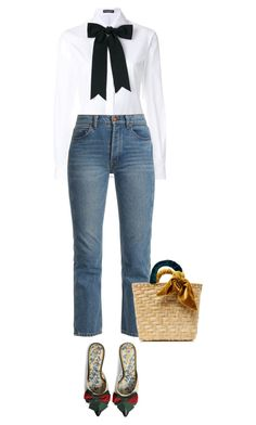 Basket #4 by anja-173 on Polyvore featuring polyvore fashion style Dolce&Gabbana Bliss and Mischief Gucci donni charm clothing basketbags