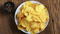 Chips de batata assada