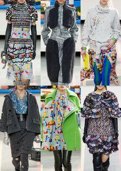 Paris Fashion Week – Autumn/Winter 2014/2015 – Print Highlights – Part 3 catwalks