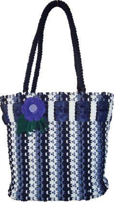 Handbagmacrame handmade fashion bag by BagsMagicKnots on Etsy, $135.00