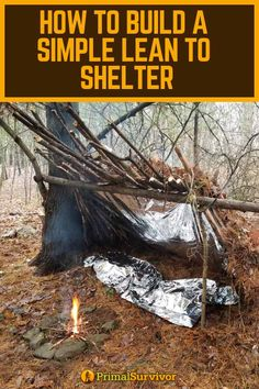 Whether you're in an emergency situation or simply outdoor camping, it's not constantly easy to discover a great location to set up your shelter and standard living location. Survival Supplies, Survival Food, Homestead Survival, Wilderness Survival, Outdoor Survival, Survival Prepping, Emergency Preparedness, Survival Skills, Outdoor Camping