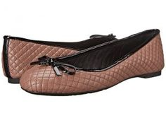 MICHAEL Michael Kors Melody Quilted Ballet (Dusty Rose Nappa) Women's Flat Shoes