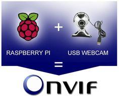 How to turn an USB camera with Raspberry Pi into an Onvif IP Camera? Robotics Projects, Arduino Projects, Hobby Electronics, Electronics Projects, Make Ip, Raspberry Projects, Arduino Beginner, Raspberry Pi Camera, Pi A