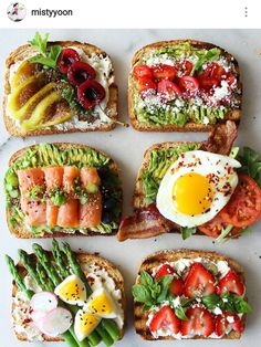 What's on your toast today? Whatever it is, Fresco Grano is here for you! Have a… What's on your toast today? Whatever it is, Fresco Grano is here for you! Healthy Meal Prep, Healthy Breakfast Recipes, Healthy Snacks, Healthy Recipes, Food Platters, Aesthetic Food, I Love Food, Food Inspiration, Food Porn