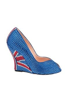 Olympic Fashion - Aruna Seth Swarovski Elements #Shoes