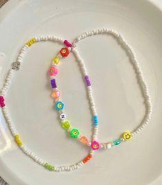 Diy Jewelry Rings, Funky Jewelry, Trendy Jewelry, Cute Jewelry, Beaded Anklets, Beaded Jewelry, Diy Beaded Bracelets, Bead Jewellery, Diy Collier