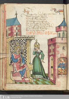 30 [13v] - Ms. germ. qu. 12 - Die sieben weisen Meister - Page - Mittelalterliche Handschriften - Digitale Sammlungen 1471